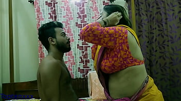 Desi Milf Aunty having sex with college boy!! Paid house rent doing sex, enjoy with dirty audio