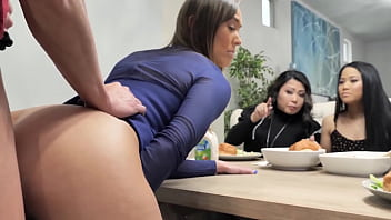 Stunning Busty Milf In Yoga Sportswear Gets Free Used And Banged In Front Of Her Friend During Class