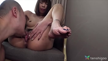 Nude in our hotel in Japan, lanky, tall and sexy girl wants to be on camera in her 1st JAV - Come watch this hot girl get naked and get her pussy worked on