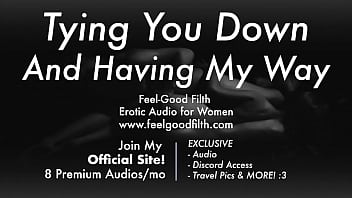 Dominant Boyfriend Ties You Up, Licks Your Pussy   Makes You Cum   Aftercare [Audio Porn for Women]