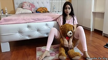 Innocent Stepdaughter pays attention to her Stepfather because her mother ordered her and her Stepfather takes advantage of her