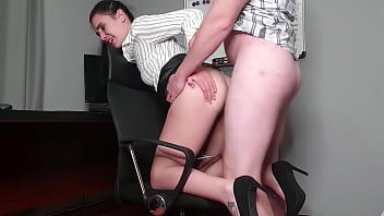 Roleplay attorney gets her ass and mouth fucked for getting rid of proof   atm   anal creampie