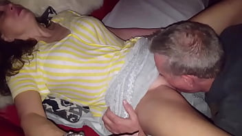 Leaves HIS CUM In My Wife's Pussy